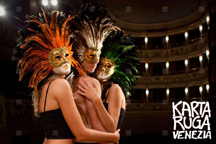 Venetian masks in the eternal city