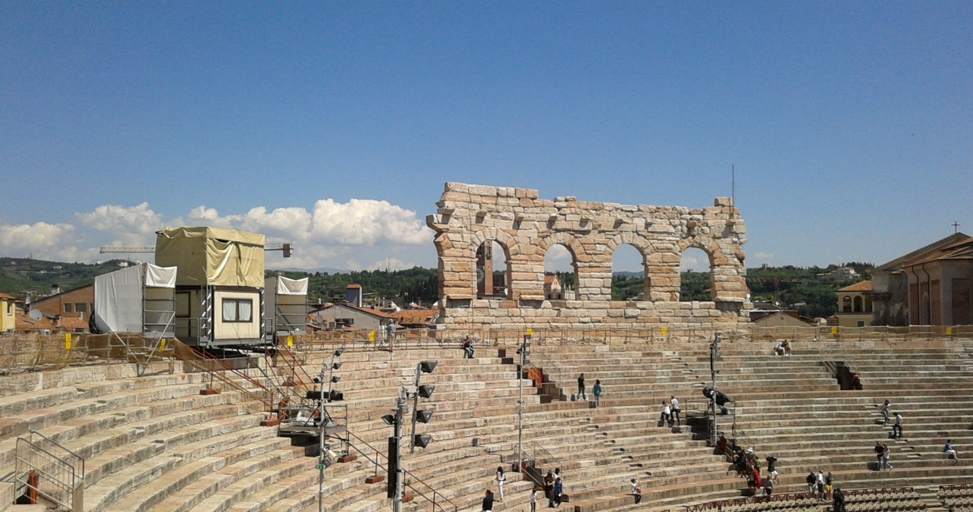 From gladiators to lyrics: welcome to the Arena