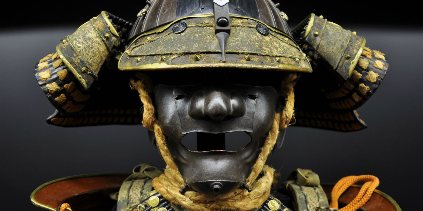 The masks of Samurai