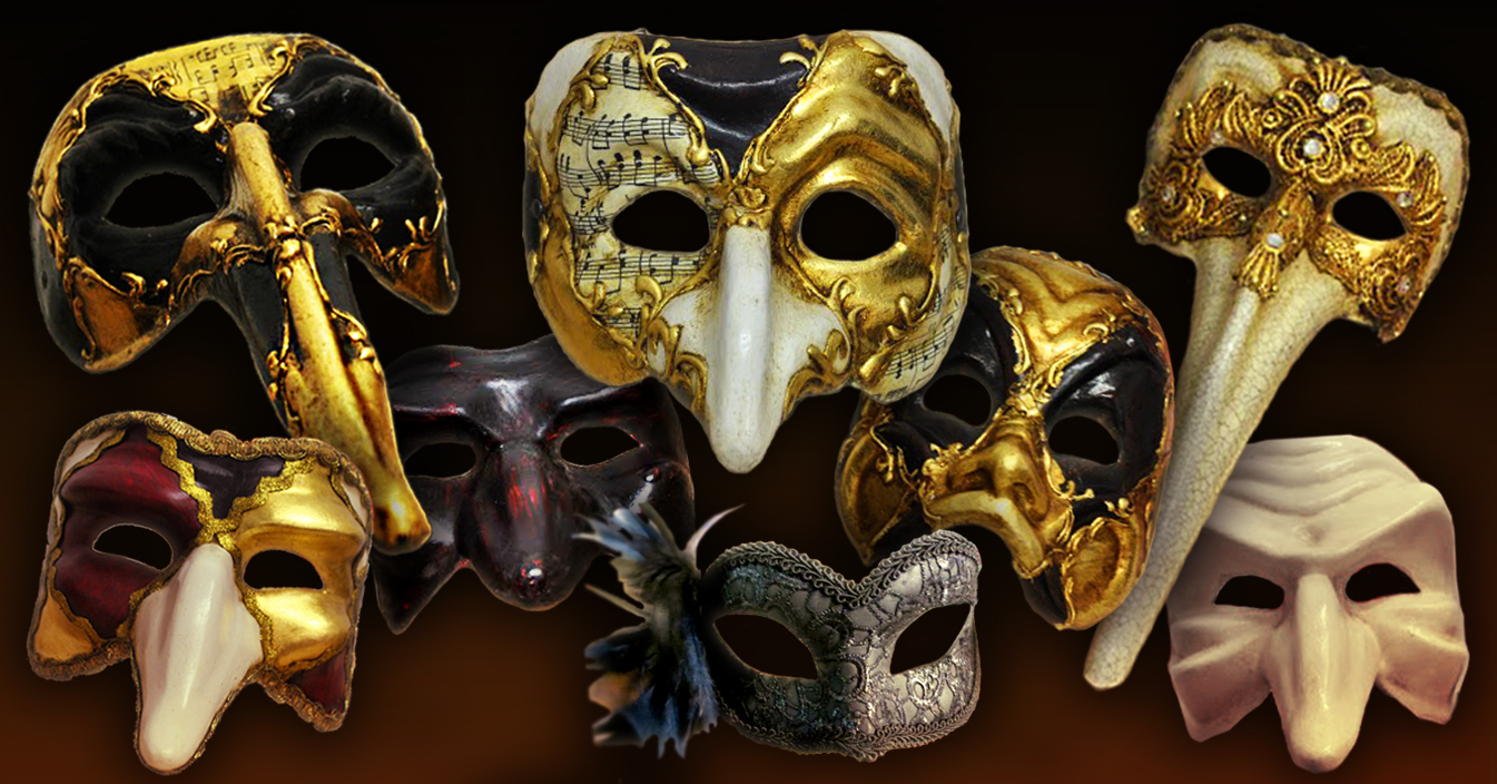 Tell me your mask and I'll tell you who you are