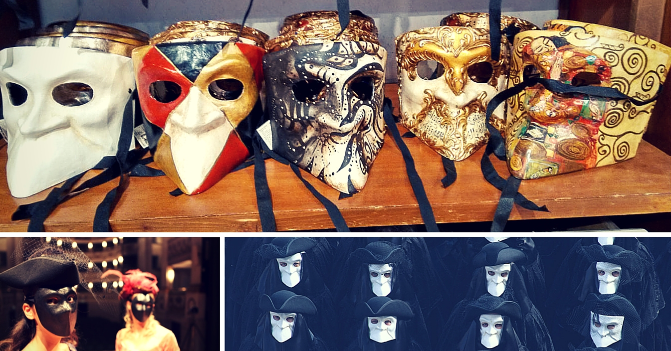 3 curious facts about the history of Venetian masks