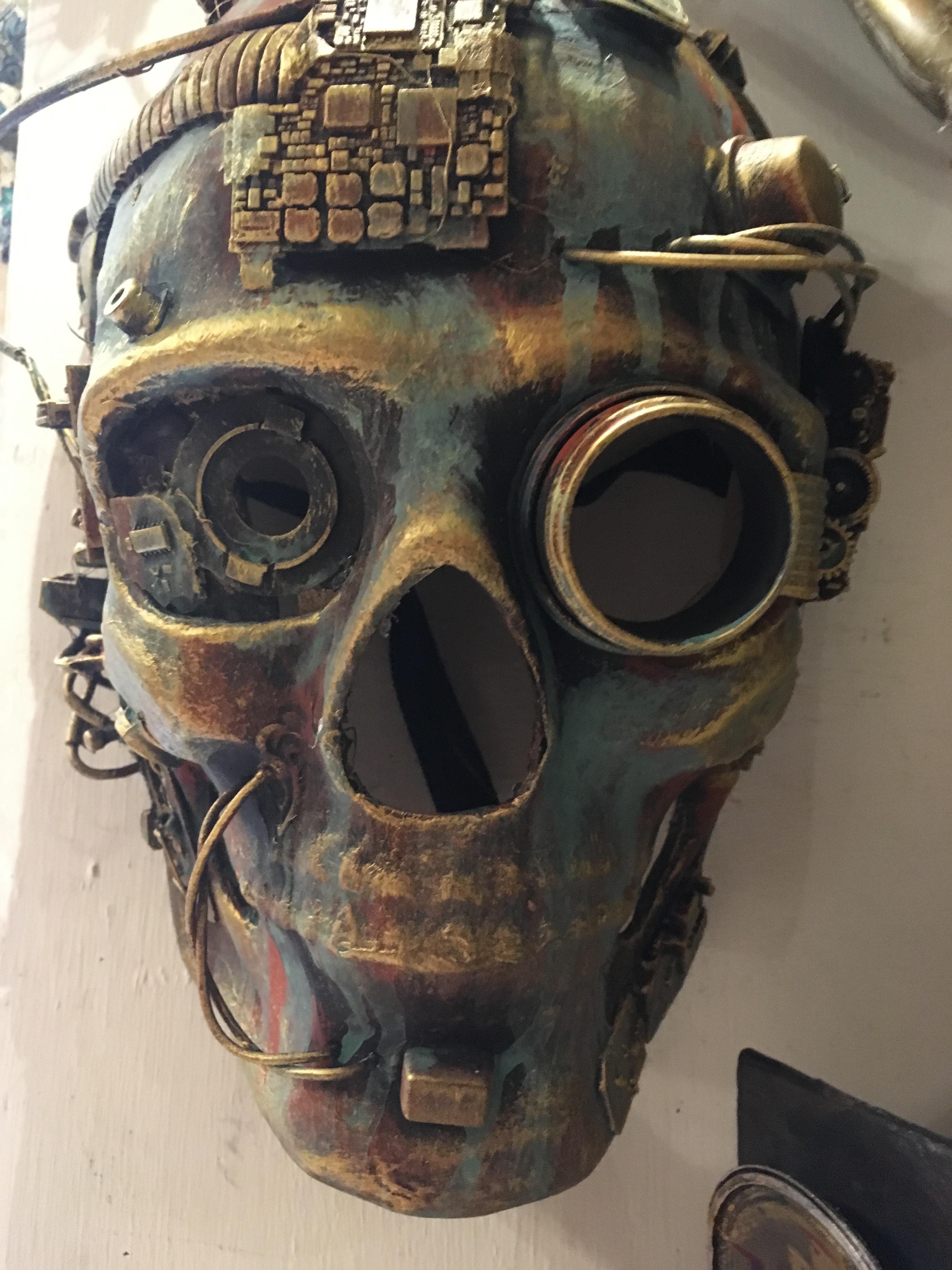 steampunk mask  Kartaruga